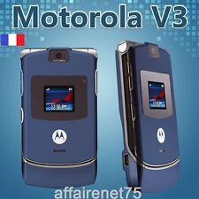 Téléphone Portable Motorola Razr V3 Bleu Neuf Débloqué