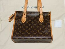 Auth Louis Vuitton Monogram Popincourt Haut Handbag Purse Mint + FREE CHANEL ~