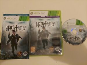 HARRY POTTER AND THE DEATHLY HALLOWS PART 1  XBOX 360 PREOWNED