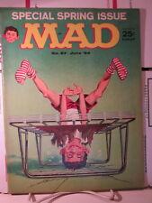 Mad Magazine #87 June 64 1964