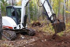 Bobcat Excavator Rake Brush Demolition Xchange 335 435 337 341 E42 E45 E50 E60