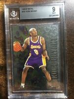 Kobe Bryant 1996-97 Fleer METAL #181 RC BGS 9 MINT