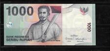 INDONESIA #141K 2013 CRISP MINT NEW 1000 RUPIAH BANKNOTE BILL NOTE PAPER MONEY