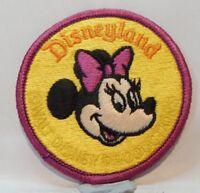 Vintage Disney Cloth Patch badge Disneyland Minnie Mouse 7.5 cm's