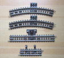 VINTAGE Trix express? di cartone soglie? binario ferroviario tre capo funzione binari?