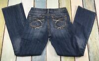 Silver Jeans Suki Bootcut Womens 28X31 MEASURES 28 X 29 Stretch BIG STITCH
