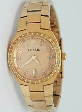Authentic Original Fossil AM4508 Rosegold Ladies Womens Watch