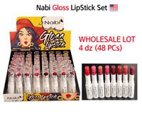 Nabi Gloss Lipstick Set - WHOLESALE LOT 4 DZ (48 PCs) *US SELLER*