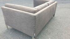 Sofa- 2 seater. Habitat Brown/Grey Newman range