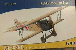 FOKKER D VII MAG - HUNGARIAN RED ARMY 1919 - EDUARD WEEKEND EDITION 1/48