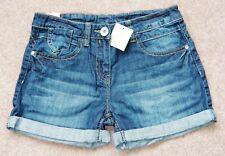 BNWT GIRLS NEXT DENIM SHORTS 11 YR 10-11 NEW BLUE WINTER JEANS TOP T-SHIRT DRESS