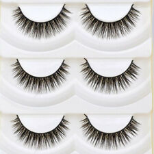 5 Pair Optimistic Hot Soft Thick Cross Makeup Eye Lashes Extension False Eyelash