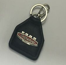 Ford F100, F150, F250, F350, Ford F Series Trucks  Real Leather  Keyring