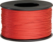Parachute Cord Nano Cord Red 75mm x 300ft. Red braided premium nylon sport and t