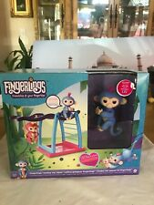 Error Box Fingerlings monkey bar playset w exclusive Liv baby monkey Oops Layset