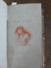 """Collection Guillaume""""LOTUS ALBA"""".J.H. ROSNY.Elem d'Asie.Idylle des tps primitifs"""