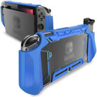 TPU Grip Protective Dockable Cover Case Blade Series For Nintendo Switch - Blue
