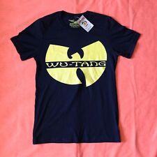 Wu Tang Clan Logo C.R.E.A.M T-Shirt Mens Size M NEW Method Man Ghostface Killah