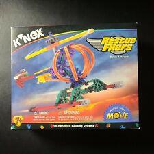 Knex K'Nex Rescue Fliers - Build 3 models 55 Piece Set #10546 New In Box