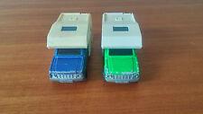 Véhicule Miniature Majorette Lot de 2 « Camping Car » N°278 Bon Etat