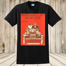 New Henry's Made a Lady Out of Lizzie 1928 Sheet Music T-Shirt Ford Model A Car