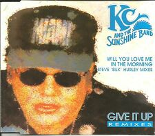 K.C. & THE SUNSHINE BAND Will you love / Give it 8TRX MIXES & DUBS CD Single kc