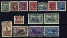 Canada 249 to 262 mh complete set