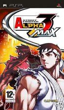 Videogame Street Fighter Alpha 3 MAX PSP