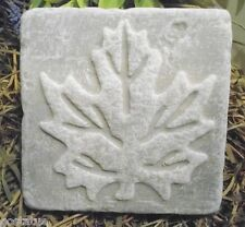 Gostatue maple leaf  travertine tile mold abs plastic mold rapid set cement all