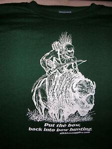 Traditional Archery Tee Shirt, Recurve Longbow