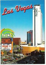 Palms Hotel Casino Oceans 11 Movie 2001 Las Vegas postcard UNUSED Single tower L