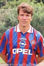 Lothar Matthäus Bayern München 1995-96 seltenes Foto+2