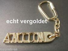 Luxus-accessoires Sporting Edler SchlÜsselanhÄnger Ulrike Vergoldet Gold Name Keychain Weihnachtsgeschenk