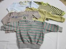 5-er Paket Sweatshirt/Pullover grau,grün,beige,blau,gelb u.a. Gr.:62/68-74,Baby