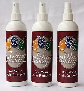 WINE AWAY Red Wine Stain Removal 3 x 360ml - Baron-ron-ron