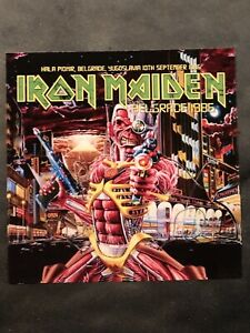 IRON MAIDEN BELGRADE 1986 2 CD 1ST SHOW OF SOMEWHERE IN TIME TOUR 6 SIT SONGS!!