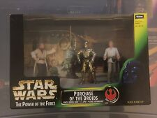 Star Wars POTF Purchase Of The Droids Playset MIB