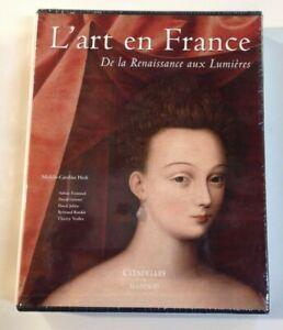 L'ART EN FRANCE DE LA RENAISSANCE AUX LUMIERES Citadelles coffret  livre art
