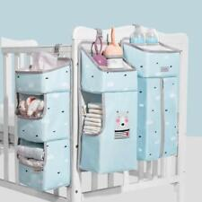 Sunveno Hanging Diaper Organizer Foldable Baby Bed Organizers 3 in 1 Set