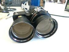 Mamiya 180MM F4.5 conjunto de lente Sekor Super TLR, en muy buena condición, para C330, C220, C33, Etc