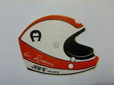 VECCHIO ADESIVO AUTO F1 / Old Sticker Vintage CLAY REGAZZONI (cm 9,5 x 7) b