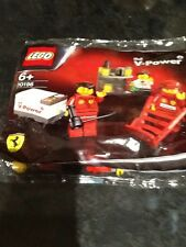 Lego 30196 Ferrari F1 equipo en boxes Shell V Power BRAND New Reino Unido stock Exclusivo