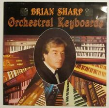 Brian Sharp ~ Orchestral Keyboards ~ 1978 1st Pressing ~ Rare ~ MINT