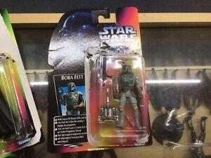 Kenner Star Wars Red Card Boba Fett Figure