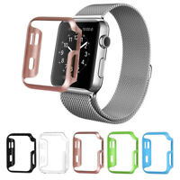 For iWatch Apple Watch Series 3 2 1 38mm 6 Color Pack Hard Bumper Case Cover