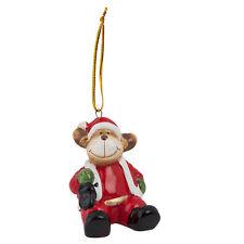 Clayre Eef Weihnachten Deko  Baumschmuck Rentier Christbaum 6*5*6 cm