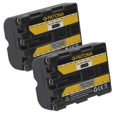 2x Batteria compatibile Patona 1300mah per Sony DSLR-A700,DSLR-A850,DSLR-A900
