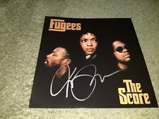 THE FUGEES LAURYN HILL Signed 12x12 THE SCORE ALBUM PHOTO