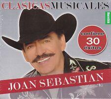 Joan Sebastian 30 Exitos Clasicas Musicales 2CD New Nuevo Sealed BOX SET