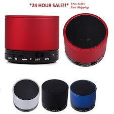 Bluetooth Wireless Mini Portable Super Bass Speaker For Smartphone Tablet USB TF